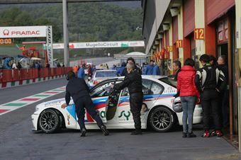 Fumagalli Fumagalli (Grppo Piloti Forlivesi, BMW 320i B 24h 2.0 #203) , TCR ITALY TOURING CAR CHAMPIONSHIP