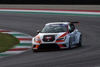 Jordi Genè Guerrero(Seat Motorsport Italia,Seat Leon Racer TCR #103), TCR ITALY TOURING CAR CHAMPIONSHIP