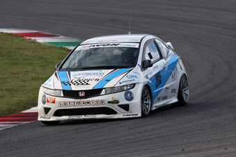 Piccin Paravati (A.S.D. Super 2000, Honda Civic Type R B 24h 2.0 #205) , TCR ITALY TOURING CAR CHAMPIONSHIP