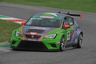 Simone Sartori (Dinamic Srl,SEAT Leon Racer TCR #123) , TCR ITALY TOURING CAR CHAMPIONSHIP