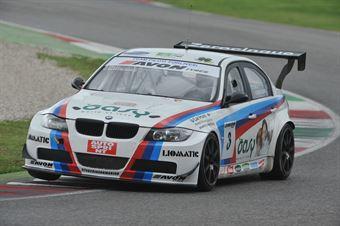 Valli Montalbano (Gruppo Piloti Forlivesi, BMW M3 E90 #3) , TCR ITALY TOURING CAR CHAMPIONSHIP