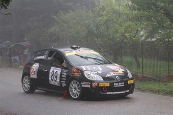 CLAUDIO MARTORANA RENAULT CLIO R #89, CAMPIONATO ITALIANO VEL. SALITA AUTO STORICHE