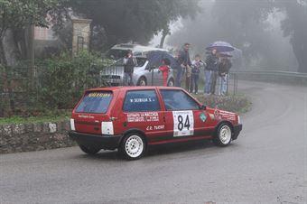 SALVATORE SCIBILIA FIAT UNO T  (SC NEBROSPORT #84), CAMPIONATO ITALIANO VEL. SALITA AUTO STORICHE