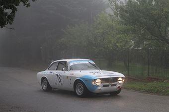 ANTONIO STAGNO ALFA ROMEO GTA (SC ISLAND MOTORSPORT #78), CAMPIONATO ITALIANO VEL. SALITA AUTO STORICHE