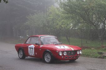 CARLO ANGELELLA LANCIA FULVIA HF (SC PEGASO PA #77), CAMPIONATO ITALIANO VEL. SALITA AUTO STORICHE