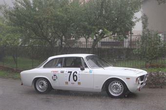FAUSTO LIANI ALFA ROMEO GIULIA GT V #76, CAMPIONATO ITALIANO VEL. SALITA AUTO STORICHE