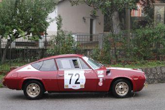 OIRAM LANCIA FULVIA ZAGATO  #72, CAMPIONATO ITALIANO VEL. SALITA AUTO STORICHE
