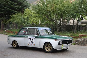 GAETANO LUCA' BMW 2002 #74, CAMPIONATO ITALIANO VEL. SALITA AUTO STORICHE