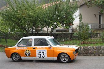 VINCENZO BARONE FIAT 128  (SC ETNA #53), CAMPIONATO ITALIANO VEL. SALITA AUTO STORICHE