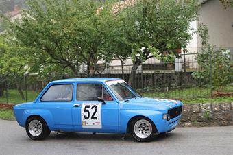 FEDERICO MEZZETTI FIAT 128 (SC TRICOLORE #52), CAMPIONATO ITALIANO VEL. SALITA AUTO STORICHE