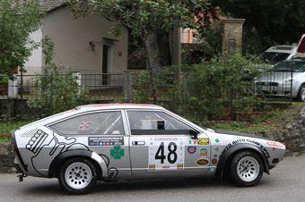 QUINTINO GIANFILIPPO ALFETTA GTV #48, CAMPIONATO ITALIANO VEL. SALITA AUTO STORICHE