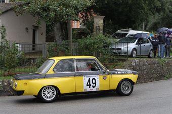 MASSIMO PETRO FRANCO BMW 2002 (SC FESTINA LENTE #49), CAMPIONATO ITALIANO VEL. SALITA AUTO STORICHE