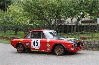 MICHELE GUARINO LANCIA  FULVIA COUPE  (SC MOTOR TEAM NISSENO #45), CAMPIONATO ITALIANO VEL. SALITA AUTO STORICHE