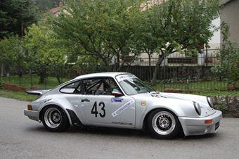 MATTEO ADRAGNA PORSCHE 911 SC (SC TEAM ITALIA #43), CAMPIONATO ITALIANO VEL. SALITA AUTO STORICHE
