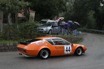 ANGELO CONTINO RENAULT ALPINE A 310 (SC PEGASO PA   #44), CAMPIONATO ITALIANO VEL. SALITA AUTO STORICHE