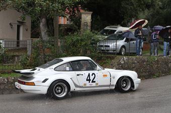 GIULIANO PALMIERI PRSCHE CARRERA RS  (SC BOLOGNA CORSR #42), CAMPIONATO ITALIANO VEL. SALITA AUTO STORICHE