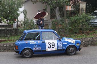PAOLO DI MARCO A 112 AB  #39, CAMPIONATO ITALIANO VEL. SALITA AUTO STORICHE