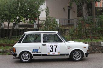 GIOVANNI MANGANO A 112 AB #37, CAMPIONATO ITALIANO VEL. SALITA AUTO STORICHE