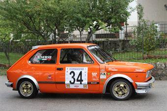 VINCENZO SERSE FIAT 127 SPORT (SC TEAM ITALIA  #34), CAMPIONATO ITALIANO VEL. SALITA AUTO STORICHE