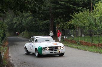 GIOVANNI SERIO ALFA ROMEO GTA M #47, CAMPIONATO ITALIANO VEL. SALITA AUTO STORICHE