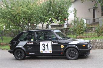 FRANCESCO DONCARRA SALOMONE  VW GOLF GTI (SC PEGASO PA # 31), CAMPIONATO ITALIANO VEL. SALITA AUTO STORICHE