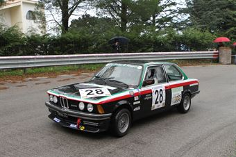 FABIO LO SICCO BMW 320  E21 #28, CAMPIONATO ITALIANO VEL. SALITA AUTO STORICHE