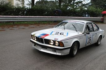 GIUSEPPE SAVOCA BMW 635 CS (SC VALDELSA CLASSIC #26), CAMPIONATO ITALIANO VEL. SALITA AUTO STORICHE