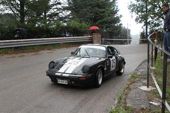 DEAD MAN RUNNING PORSCHE 911 SC  #25, CAMPIONATO ITALIANO VEL. SALITA AUTO STORICHE
