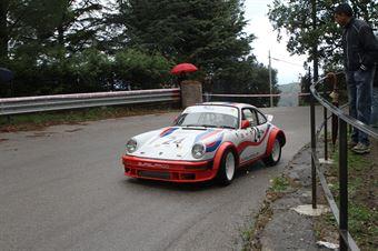 GEUSEPPE BELLOMARE PORSCHE 911 (SC PEGASO PA # 24), CAMPIONATO ITALIANO VEL. SALITA AUTO STORICHE