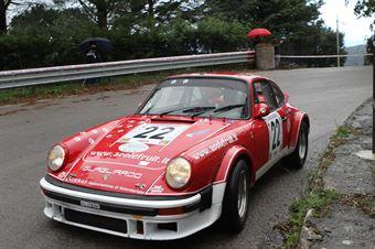 NATALE MANNINO PORSCHE 911 SC  (SC FESTINA LENTE #22), CAMPIONATO ITALIANO VEL. SALITA AUTO STORICHE