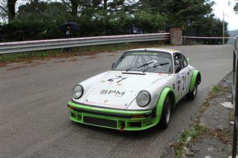 PIERO VAZZANA PORSCHE 911 SC  #21, CAMPIONATO ITALIANO VEL. SALITA AUTO STORICHE