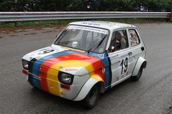 GIOVANNI ARDUINO FIAT 126  #19, CAMPIONATO ITALIANO VEL. SALITA AUTO STORICHE