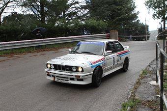 ANGELO DIANA BMW M3 (SC ISLAND MOTORSPORT # 8), CAMPIONATO ITALIANO VEL. SALITA AUTO STORICHE