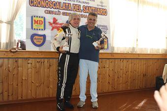 NATALE MANNINO E PIERO VAZZANA, CAMPIONATO ITALIANO VEL. SALITA AUTO STORICHE