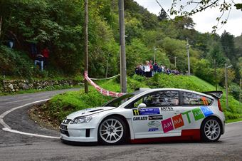 Luca Ambrosoli, Corrado Viviani (Citroen C4 WRC #11, Asd Rrt), CAMPIONATO ITALIANO WRC