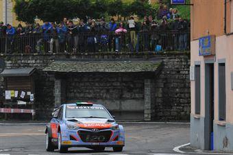 Corrado Fontana, Giovanni Agnese (Hyundai I20 WRC #7, Bluthunder Racing Italy), CAMPIONATO ITALIANO WRC