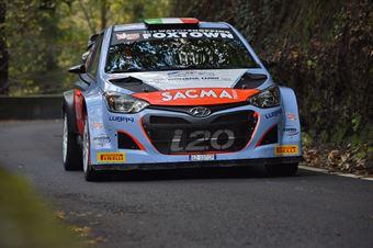 Luigi Fontana, Roberto Mometti (Hyundai I20 WRC #14, Bluthunder Racing Italy), CAMPIONATO ITALIANO WRC