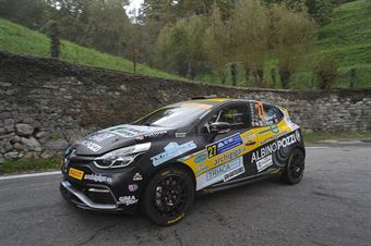 Kevin Gilardoni, Corrado Bonato (Renault Clio R3T #27, Movisport), CAMPIONATO ITALIANO WRC