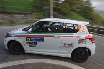 Rodrigo Gini, Roberto Conti (Suzuki Swift R1B #72, Asd Europea Service), CAMPIONATO ITALIANO WRC
