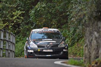 Daniele Marcoccia, Daniele Malizia (Renault Clio R3C #25), CAMPIONATO ITALIANO WRC