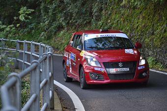 Corrado Peloso, Paolo Carruccio (Suzuki Swift R1B #71, Car for Fun), CAMPIONATO ITALIANO WRC
