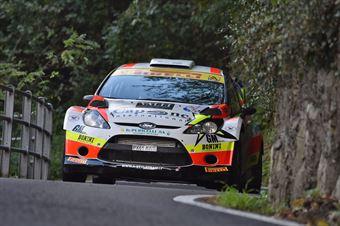 Alessandro Perico, Mauro Turati (Ford Fiesta WRC #9, Vs Corse), CAMPIONATO ITALIANO WRC