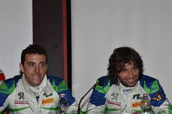 Conferenza Stampa: Alessandro Perico, Mauro Turati (Ford Fiesta WRC #9, Vs Corse), CAMPIONATO ITALIANO WRC