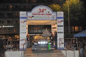 Paolo Porro, Paolo Cargnellutti (Ford Focus WRC #5, Bluthunder Racing Italy), CAMPIONATO ITALIANO WRC
