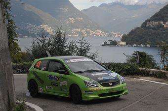 Cesare Rainer, Viktor Nideriaufner (Honda Civic N3 #43, Destra 4), CAMPIONATO ITALIANO WRC