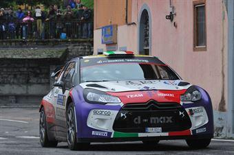 Felice Re, Mara Bariani (Citroen DS3 WRC #8, Etruria), CAMPIONATO ITALIANO WRC