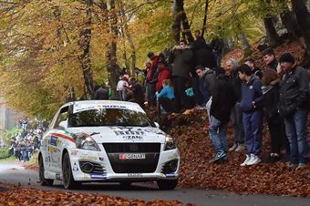 Gianluca Saresera, Andrea Tumaini (Suzuki Swift R1B #70, Just Rally Asd), CAMPIONATO ITALIANO WRC