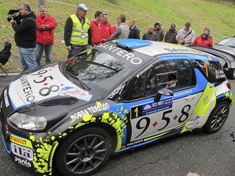Alessandro Bosca, Roberto Aresca (Citroen DS3 WRC #1, Eurospeed)_shakedown, CAMPIONATO ITALIANO WRC