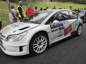Luca Ambrosoli, Corrado Viviani (Citroen C4 WRC #11, Asd Rrt)_shakedown, CAMPIONATO ITALIANO WRC