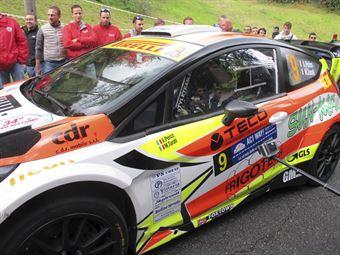 Alessandro Perico, Mauro Turati (Ford Fiesta WRC #9, Vs Corse)_shakedown, CAMPIONATO ITALIANO WRC